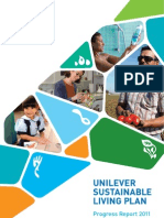 Unilever Sustainable Living Plan Progress Report 2011