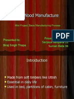 Ply Wood Manufacture