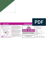 Mop Strip - Label