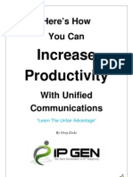 Here How You Can Increase Productivity With Unified Communications