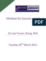 Mindset for Success Transcript Part2