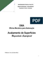 Rugosidade Superficial - Unesp Sorocaba