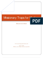 Missionary Traps for Muslims