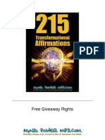 215 Affirmations New