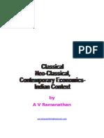 Classical,Neoclassical Economics