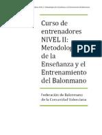 METODOLOGÍA NIVELL II - 2012