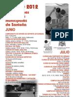 Actividades de verano en las IDM Santoña 2012
