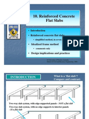 Flat Slab - Entire | Bending | Beam (Structure)