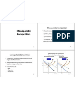 Lecture 12 Monopolistic Competition