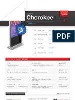 "Totem Multimediale 55"" - Modello Cherokee"