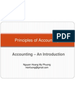 Phuong - Principles of Accounting - 1 - An Introduction