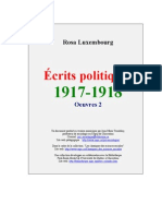Ecrits Politiques Rosa Luxembourg