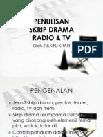 Penulisan Skrip Drama Radio Tv