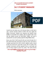 7 July 1962 - Dictator General Ne Win Destroyed Students Union Building in Myanmar 09