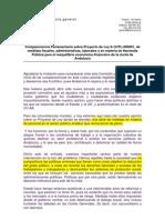 Comparecencia de CCOO-A en El Parlamennto Andaluz 13 de Julio 2012-1