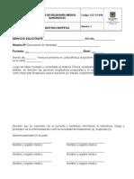 GCF-FO-030 Junta de Decisiones Medico Quirurgicas