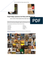 Lawrence Art Party Press Release and Invitation July 2012