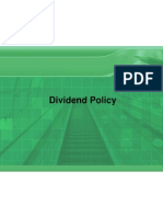 Dividned Policy