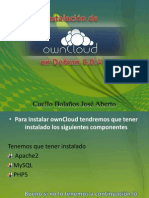 Instalación de own cloud