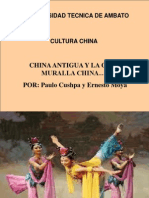 Cultura China y Su Muralla