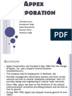 Appex Corp (1)