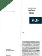 15 - Sohn-Rethel Alfred - Trabajo Intelectual y Trabajo Manual