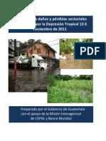 CEPAL - Evaluacion Danos y Perdidas -DT12E