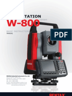 W800 Basic Manual