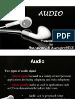 Audio (multimedia components unit 1)