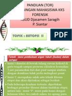 Panduan (Tor) Atopsi 2