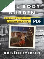 Full Body Burden by Kristen Iversen - Reader's Group Guide
