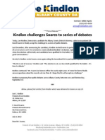 07.17.12 - Kindlon Challenges Soares to Series of Debates