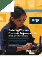 Fostering Women's Empowerment Through Special Economic Zones - Global