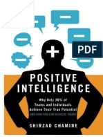 Positive Intelligence Why Only 20% of Teams and Individuals Achieve Their True Potential