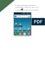 Manual Correo Android