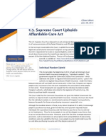 Affordable Care Act Decision