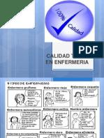 CALIDAD TOTAL EN ENFERMERIA