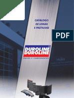 Duroline Catalogo Lonas de Freios 2012
