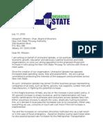 Milstein Letter Forensic Audit