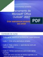 Criando Assinaturas Outlook 2007
