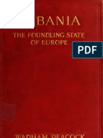 Albania, The Foundling State of Europe - Wadham Peacock (1914)