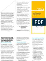 OSHA Inspections Proper Planning