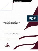 IH Metrics Example Worksheet