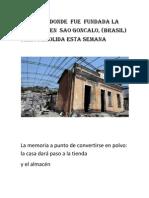 La Casa Donde Fue Fundada La Umbanda en Sao Goncalo