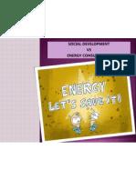 Social development vs energy consumption