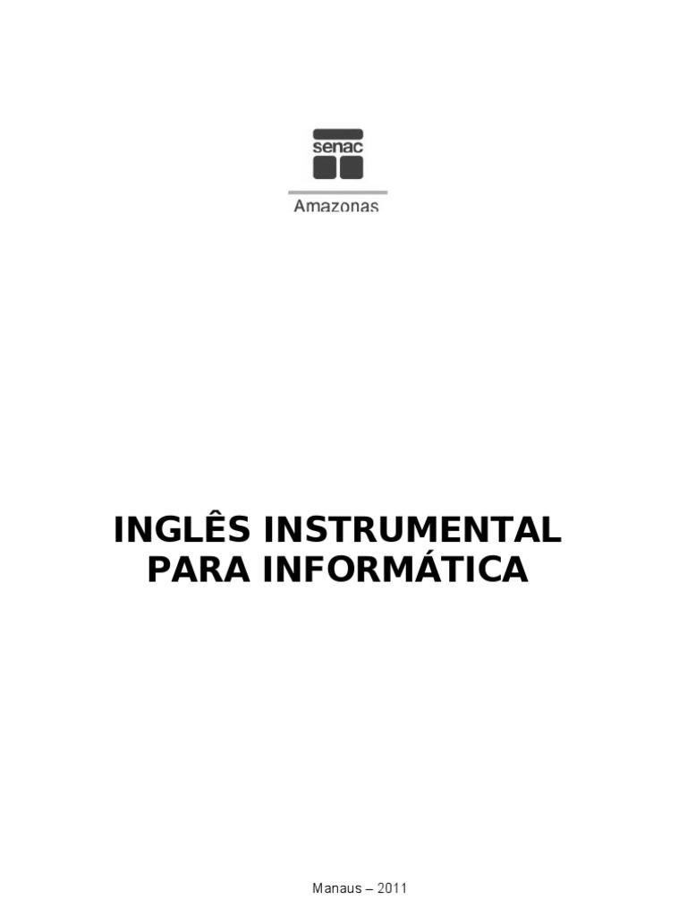 Muito INGLES PARA INSTRUMENTAL PARA INFORMÁTICA KM45