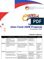 eSkwela - Presentation to eGov Fund TWG