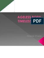 Ageless Body Timeless Mind Deepak Chopra