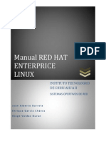 Manual Red Hat