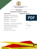 Mandela Day Programme DETEA Tikwe